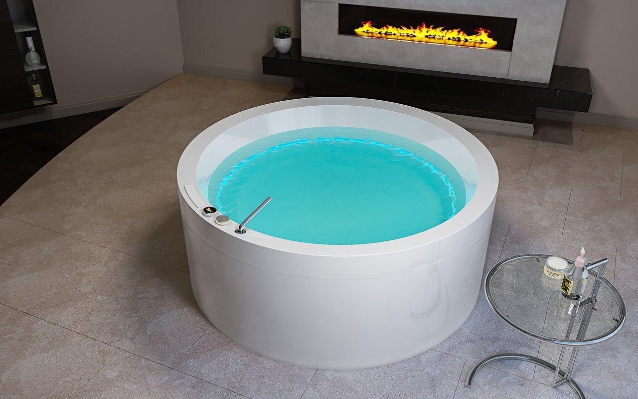 Aquatica Dream Rondo HydroRelax Jetted OutdoorIndoor Bathtub US version 240V 50 60Hz 03 (web)