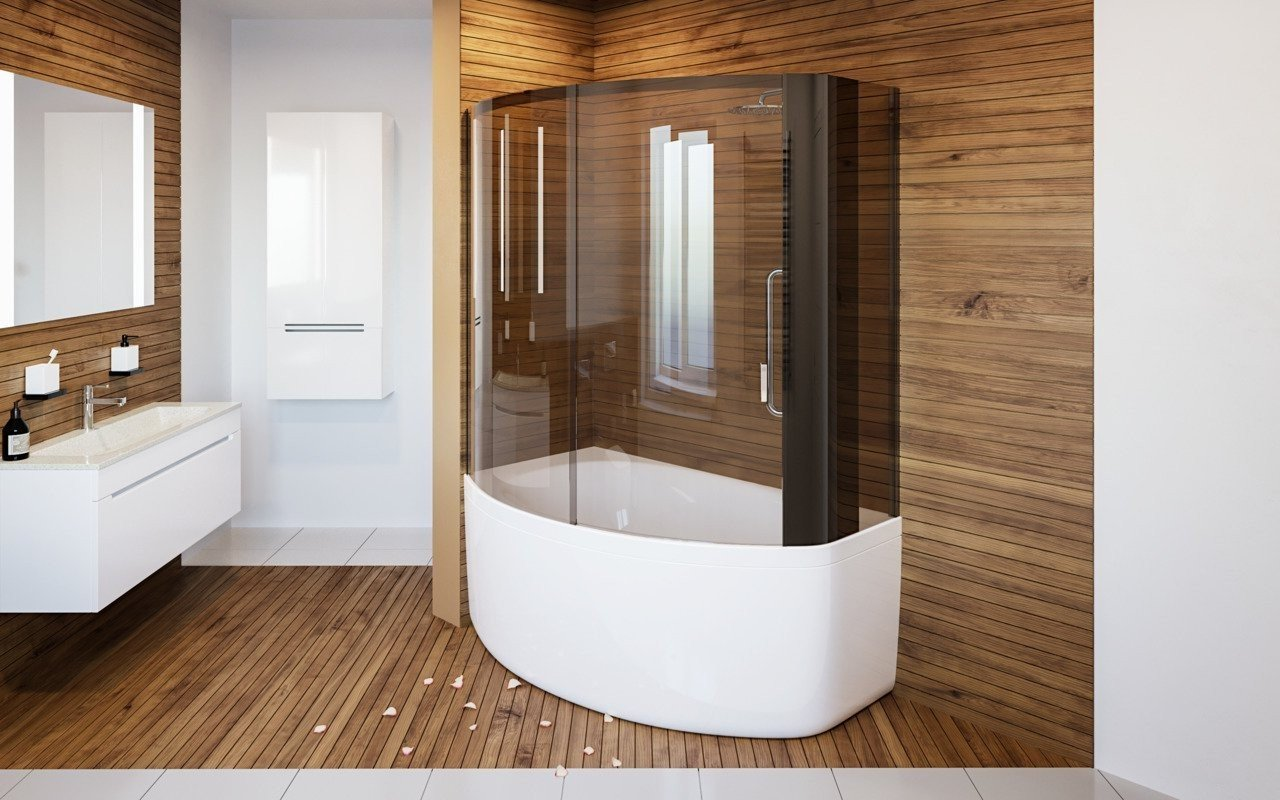 Anette C R Shower Tinted Curved Glass Shower Cabin 1 (web)