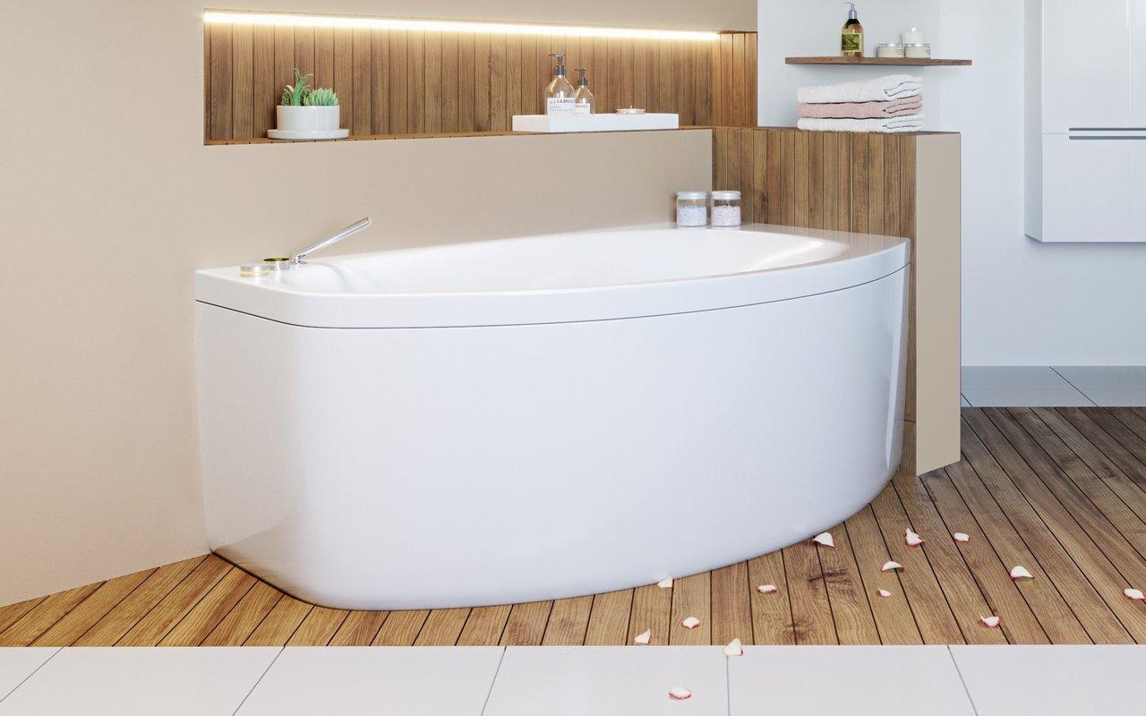 Aquatica Anette-B-L-Wht Corner Acrylic Bathtub picture № 0