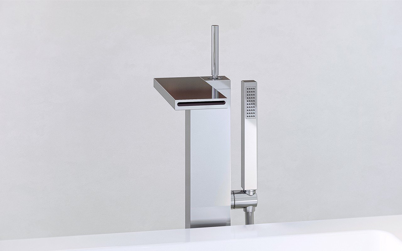 Aquatica Modul 190 Floor Mounted Bath Filler – Chrome web (4)