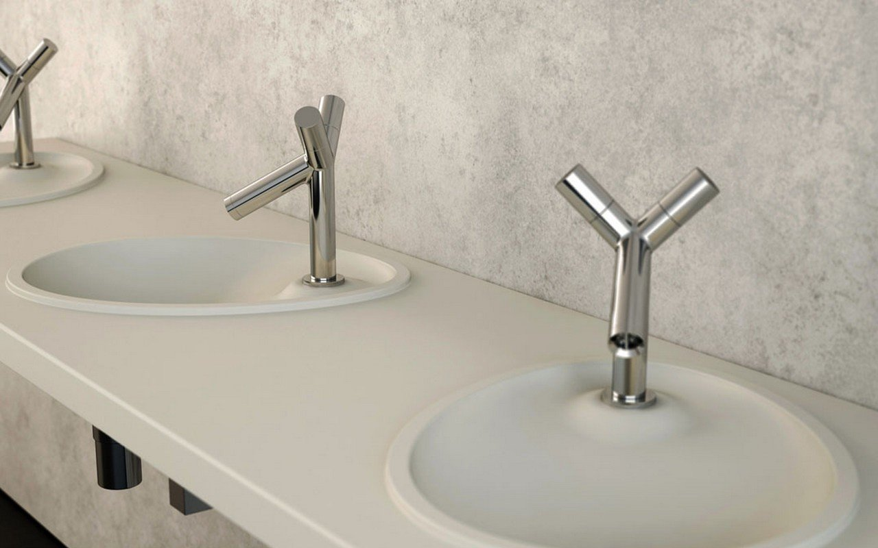 Aquatica OVO Stone Drop in Bathroom Sink 03