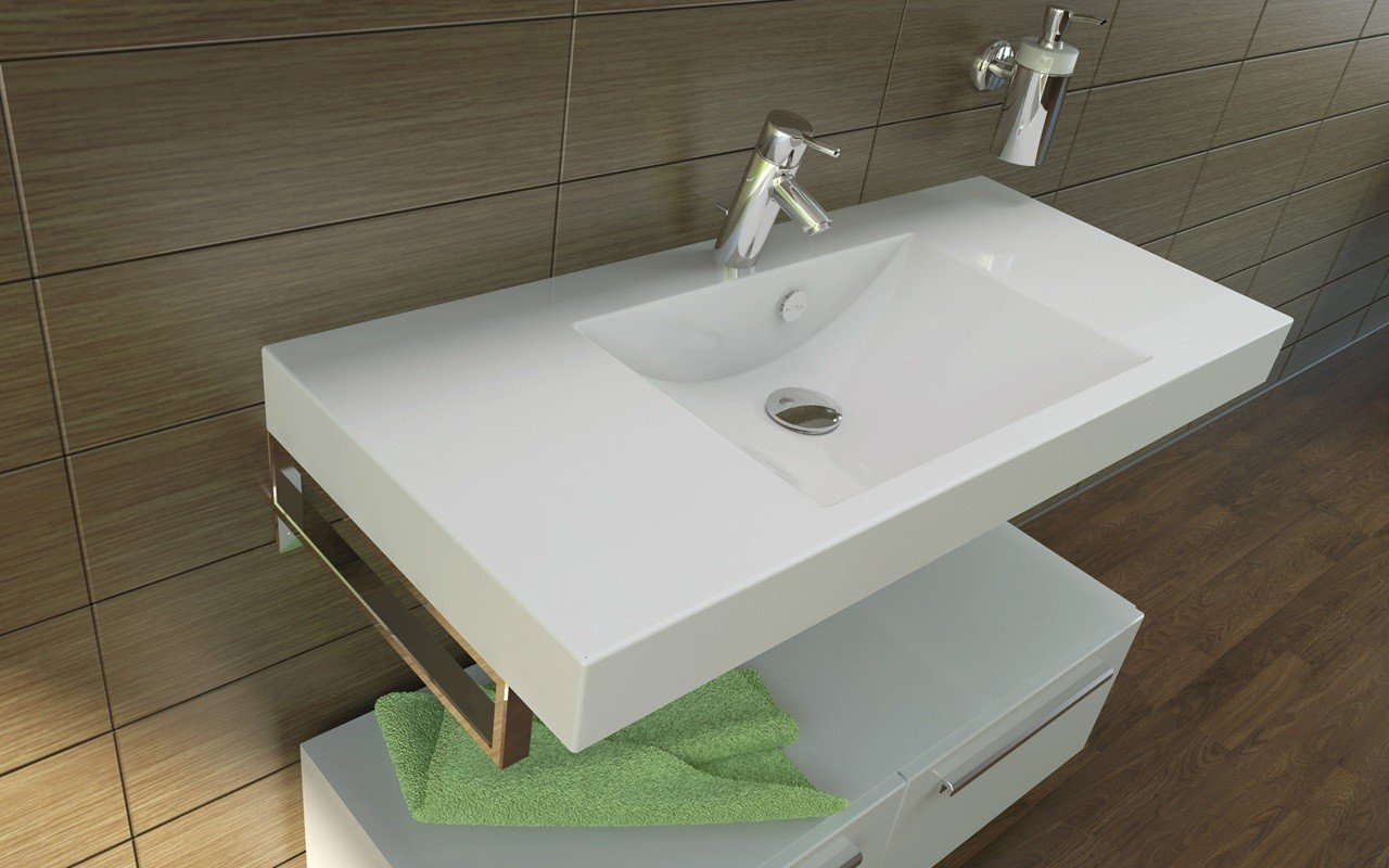 Aquatica Publica Stone Bathroom Sink 02