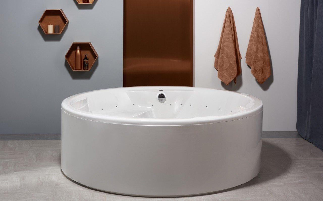 Aquatica Allegra Wht Freestanding Relax Air Massage Bathtub web(12)