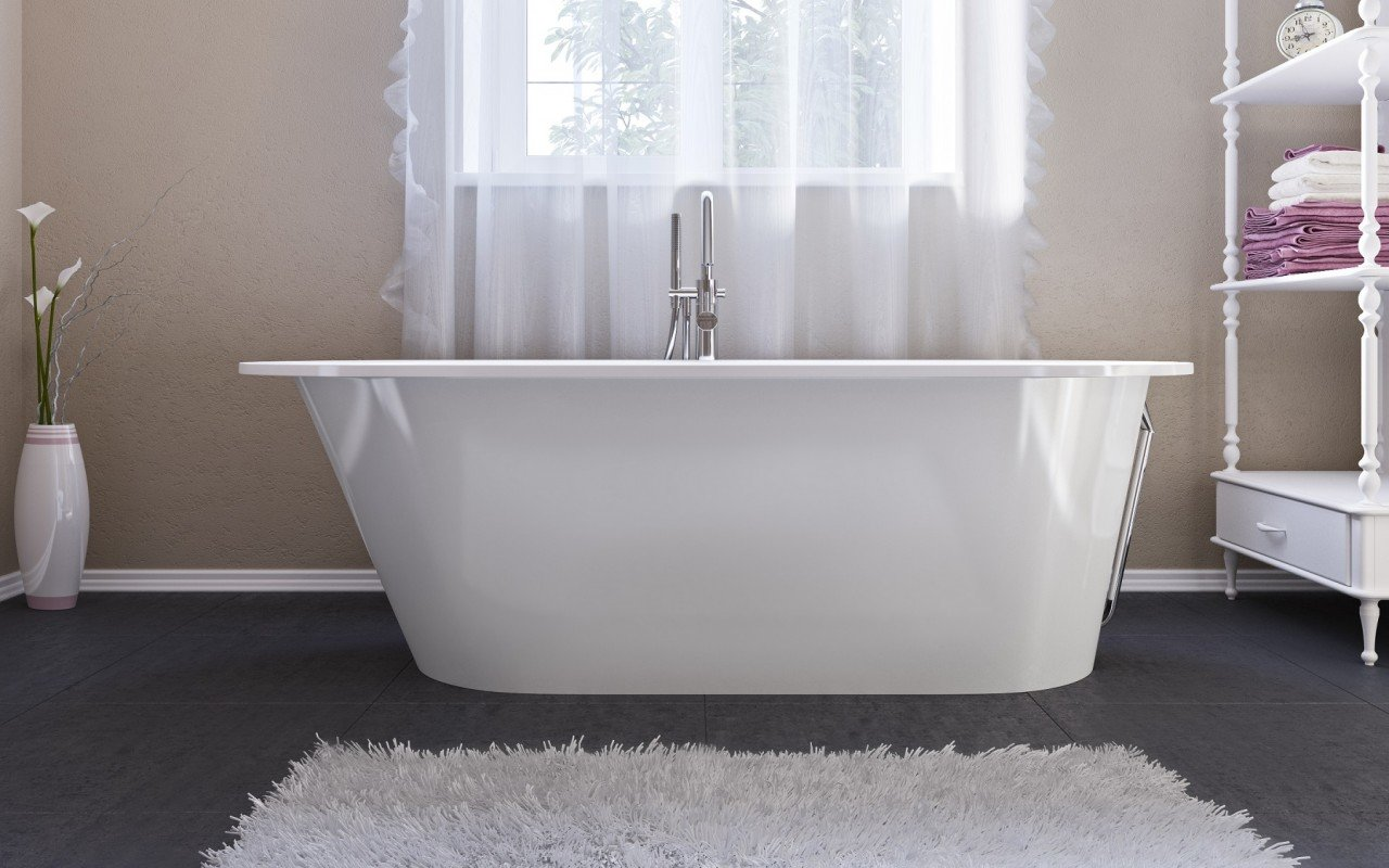 Aquatica Inflection A F Wht Freestanding Stone Bathtub (20 5) web
