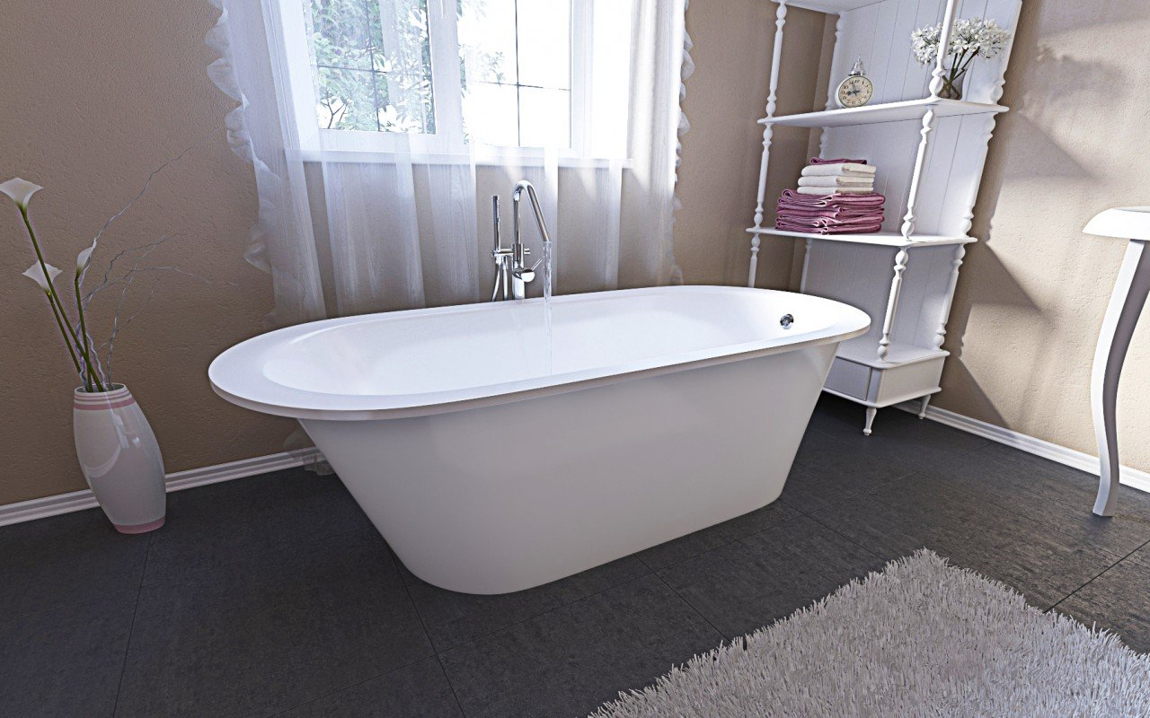 Aquatica Inflection A F Wht Freestanding Stone Bathtub (4)