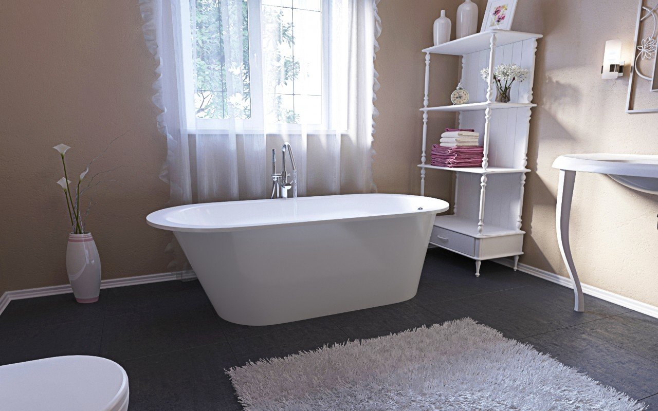 Aquatica Inflection A F Wht Freestanding Stone Bathtub (5)