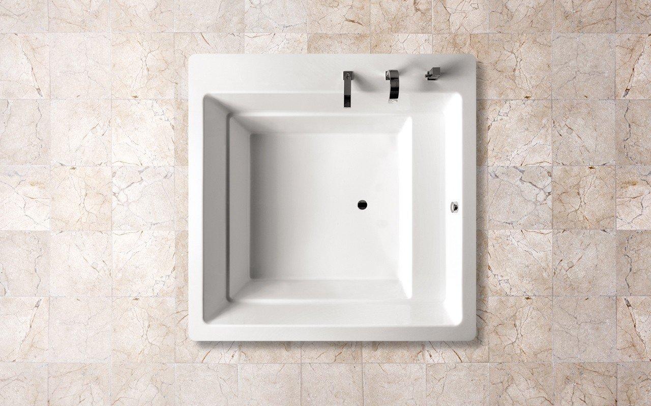 Aquatica Lacus Wht Drop In Acrylic Bathtub web 2