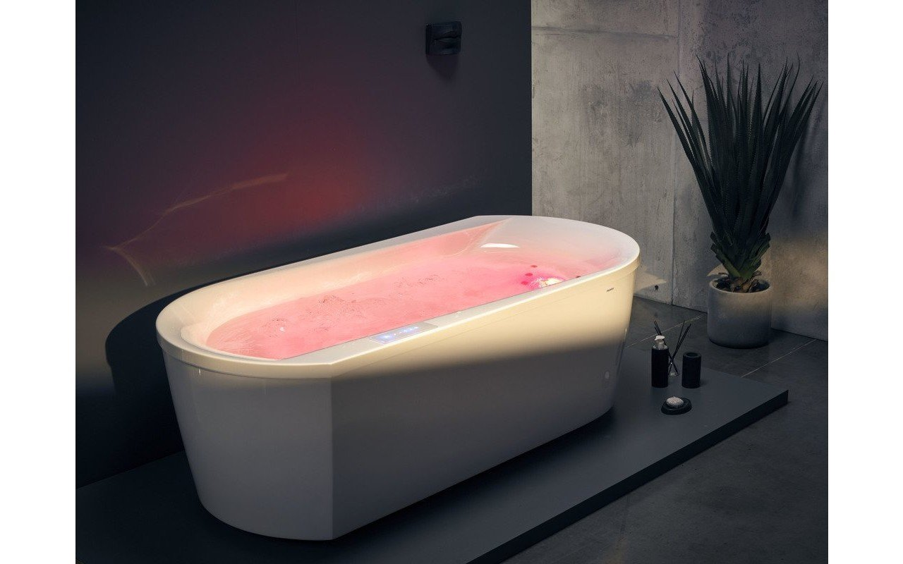 Aquatica Purescape 107 Wht HydroRelax Jetted Bathtub 220 240V 50 60Hz USA International 02 (web)