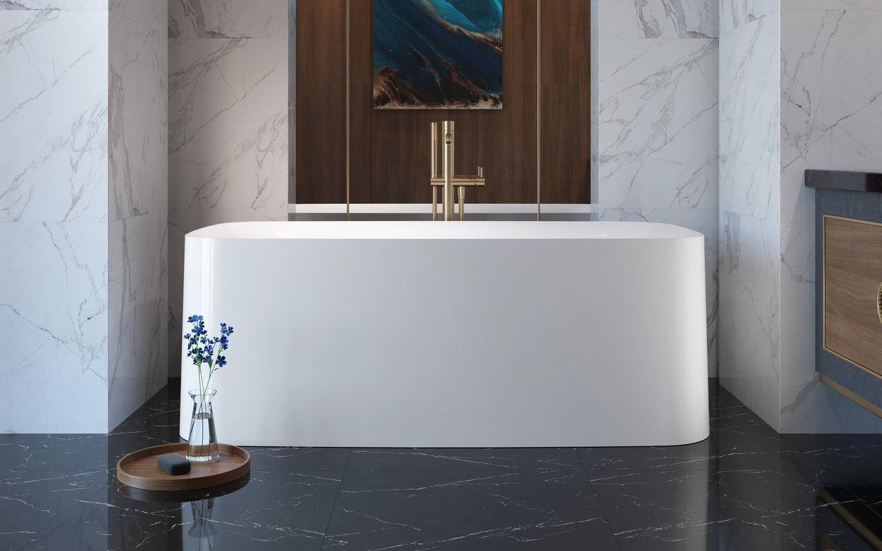 Aquatica Purescape™ 364 Freestanding Acrylic Bathtub picture № 0