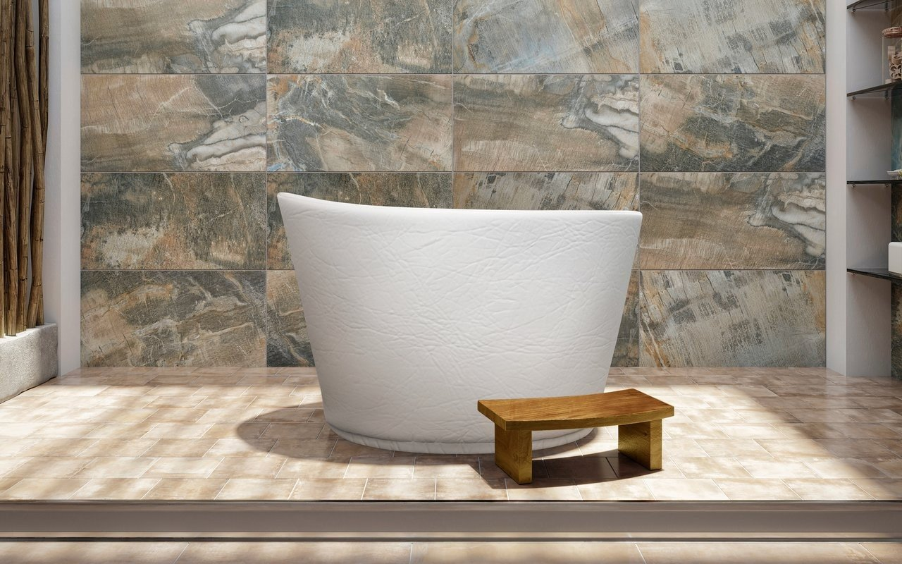Aquatica True Ofuro Indoor/Outdoor UltraLeather Bathtub Cover with Lining picture № 0