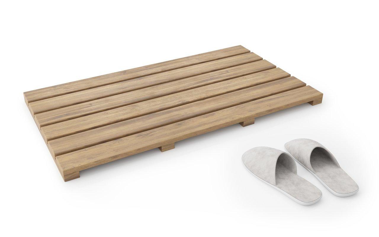 Aquatica Universal Waterproof Teak Bath Shower Floor Mat 02 (web)