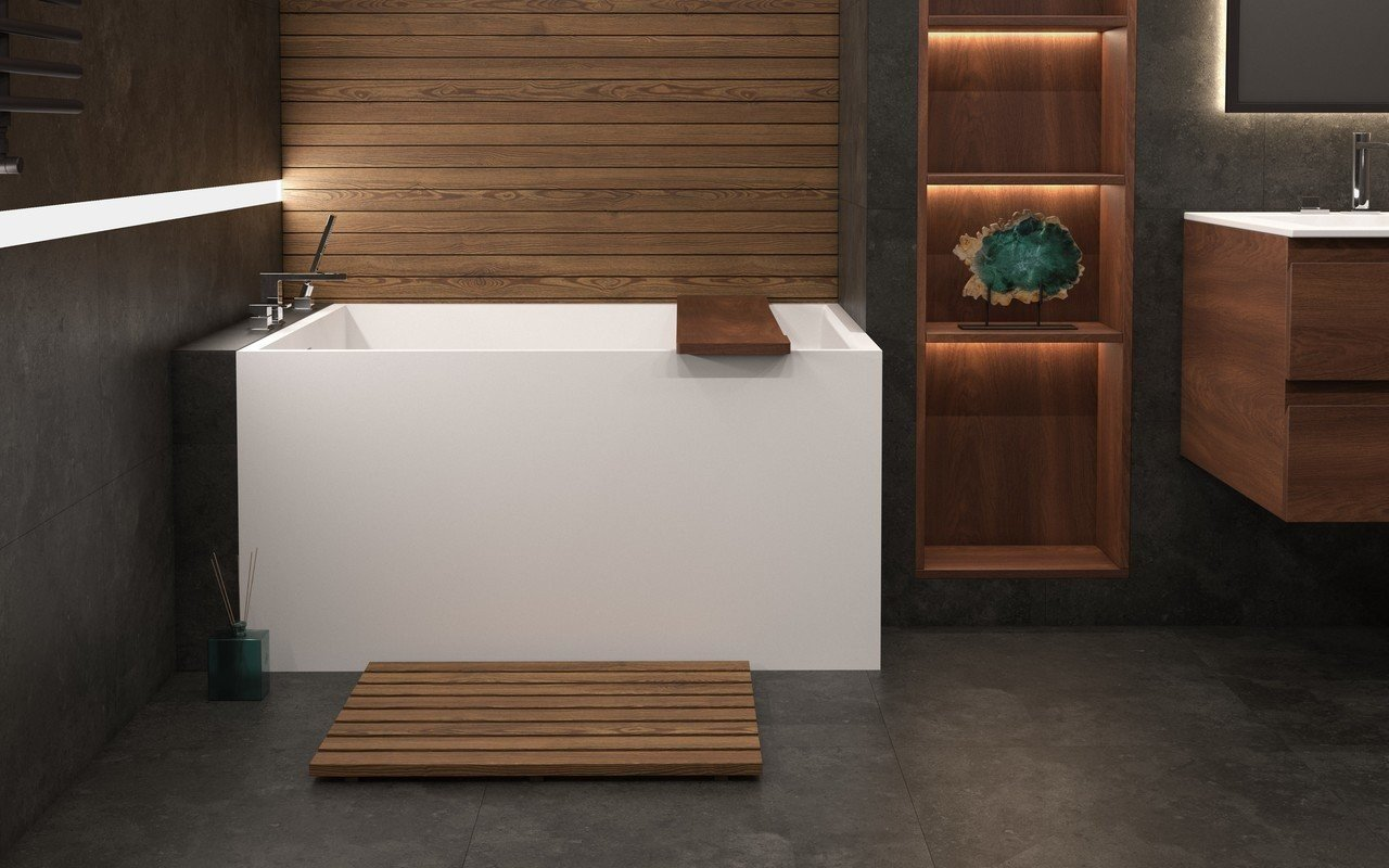 Aquatica Claire Freestanding Solid Surface Bathtub picture № 0
