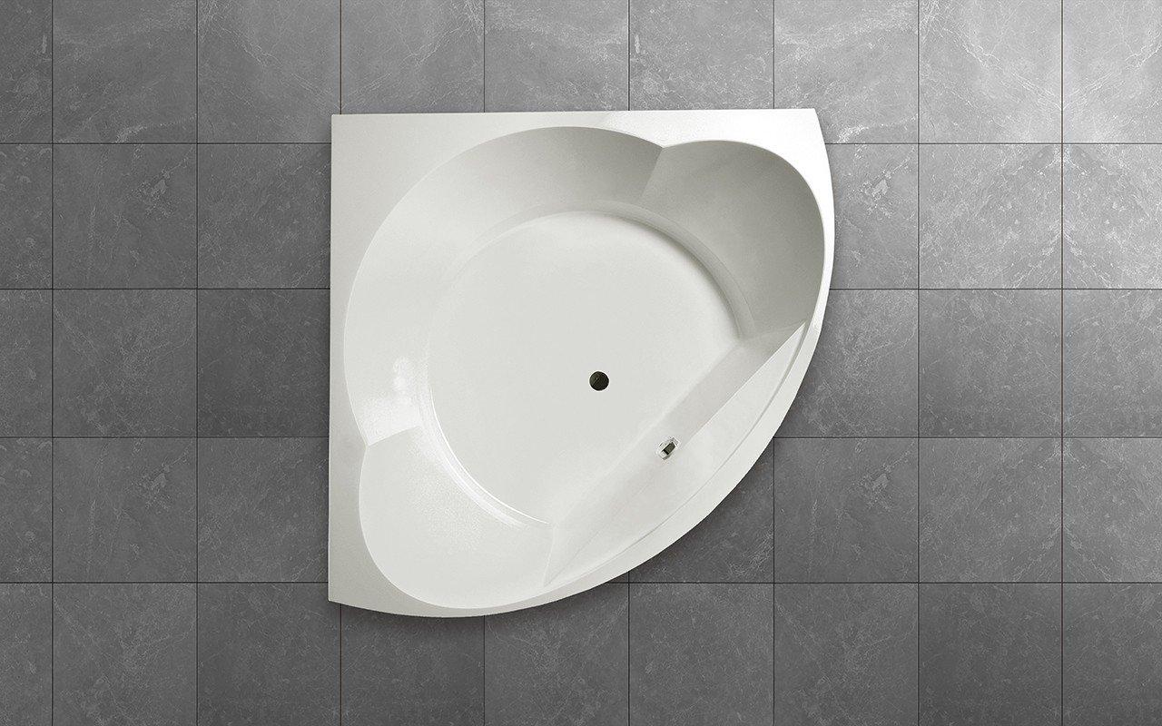 Aquatica cleopatra wht corner acrylic bathtub top web