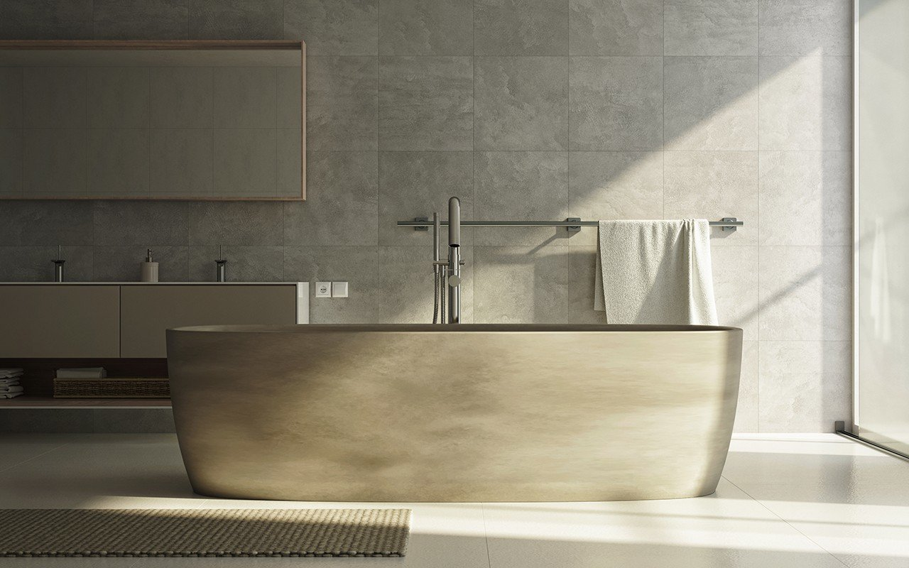 Aquatica coletta concrete freestanding solid surface bathtub web 03