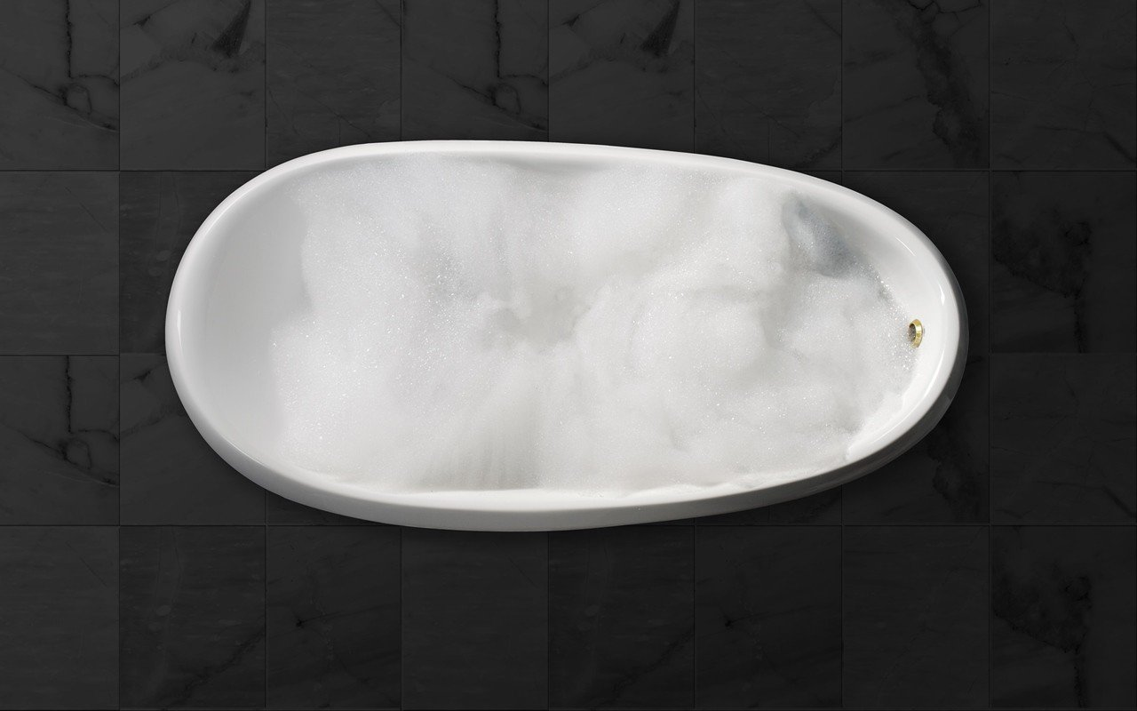 Aquatica nostalgia freestanding ecomarmor bathtub top web