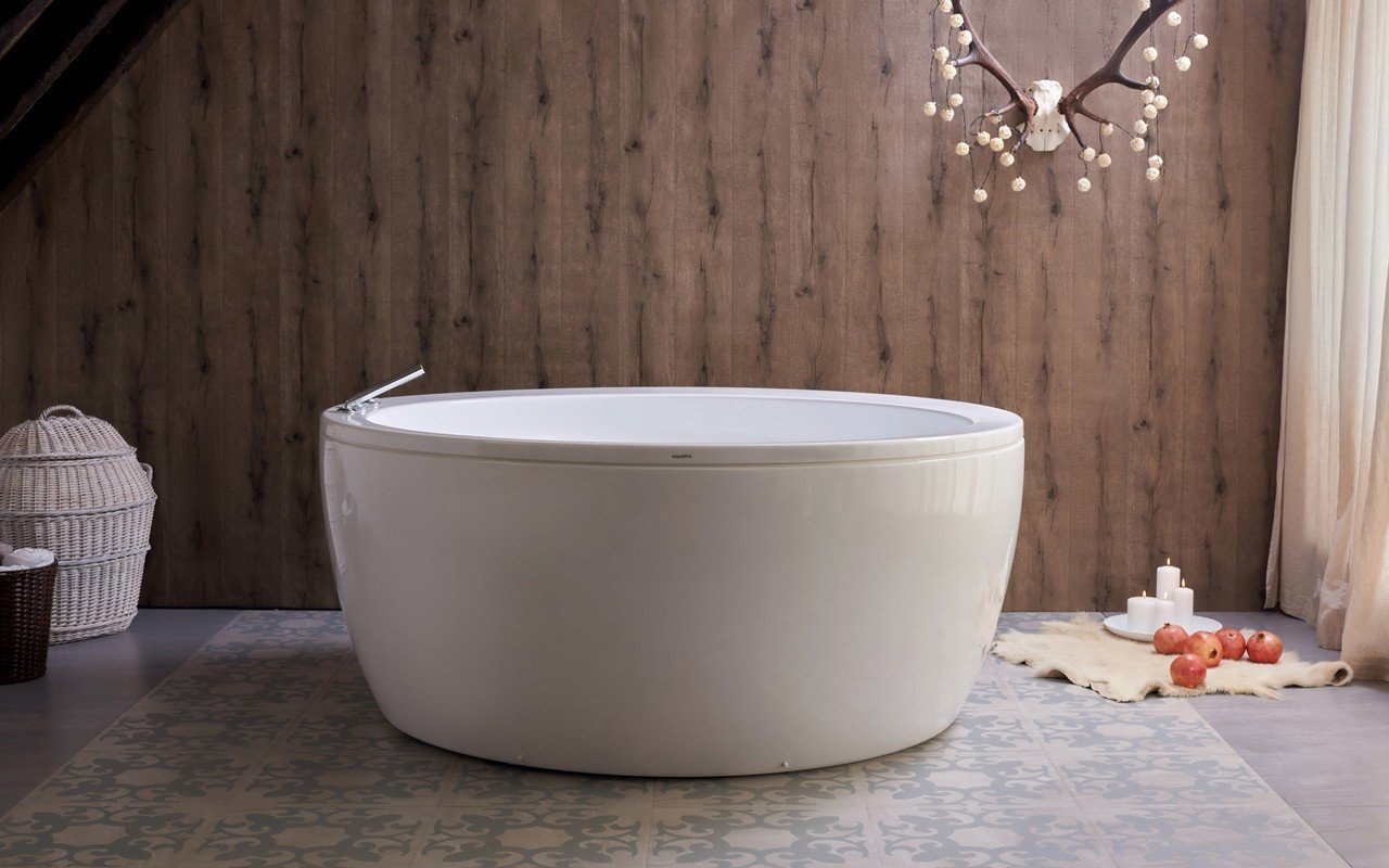 Aquatica Pamela-Wht Freestanding Acrylic Bathtub picture № 0