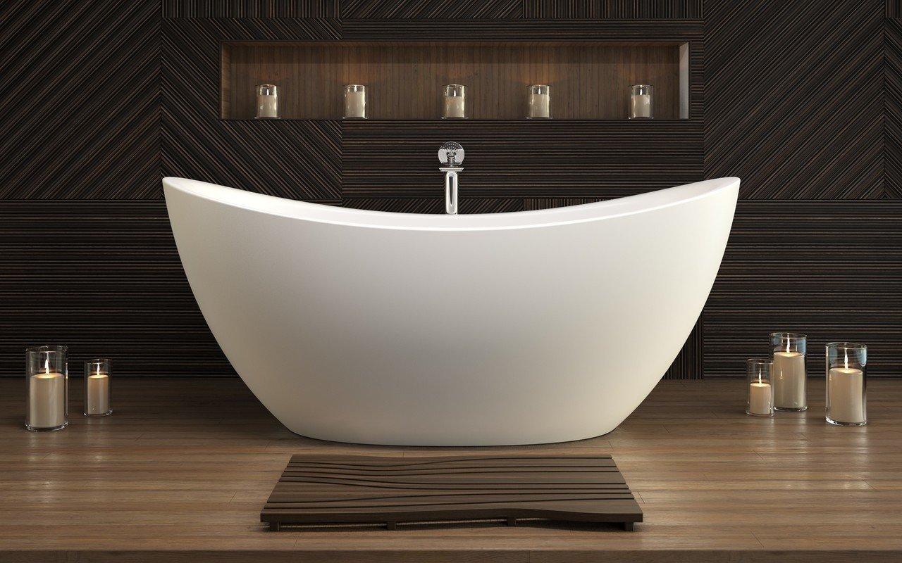 Aquatica Purescape 171 Freestanding Solid Surface Bathtub picture № 0