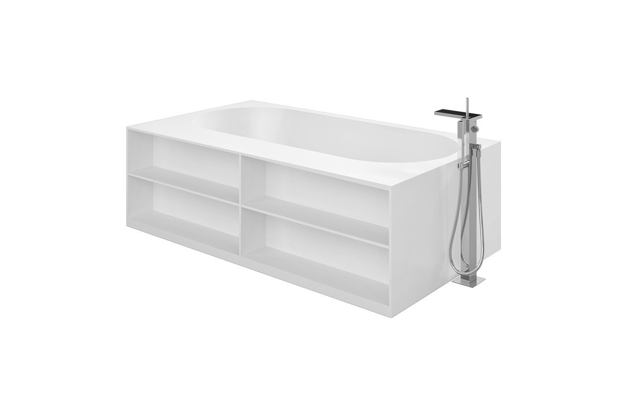 Aquatica storage lovers freestanding solid surface bathtub front (web)