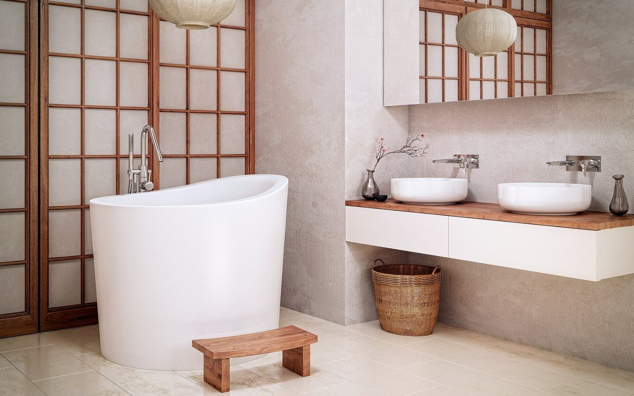 Aquatica True Ofuro Mini Tranquility Heated Japanese Bathtub picture № 0