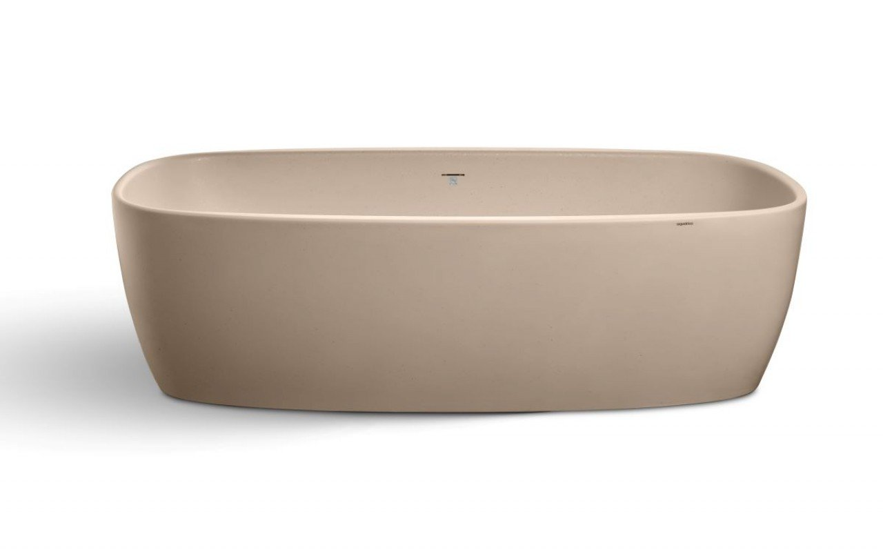 Aquatica Coletta™ Sleek Sandstone Freestanding Solid Surface Bathtub picture № 0