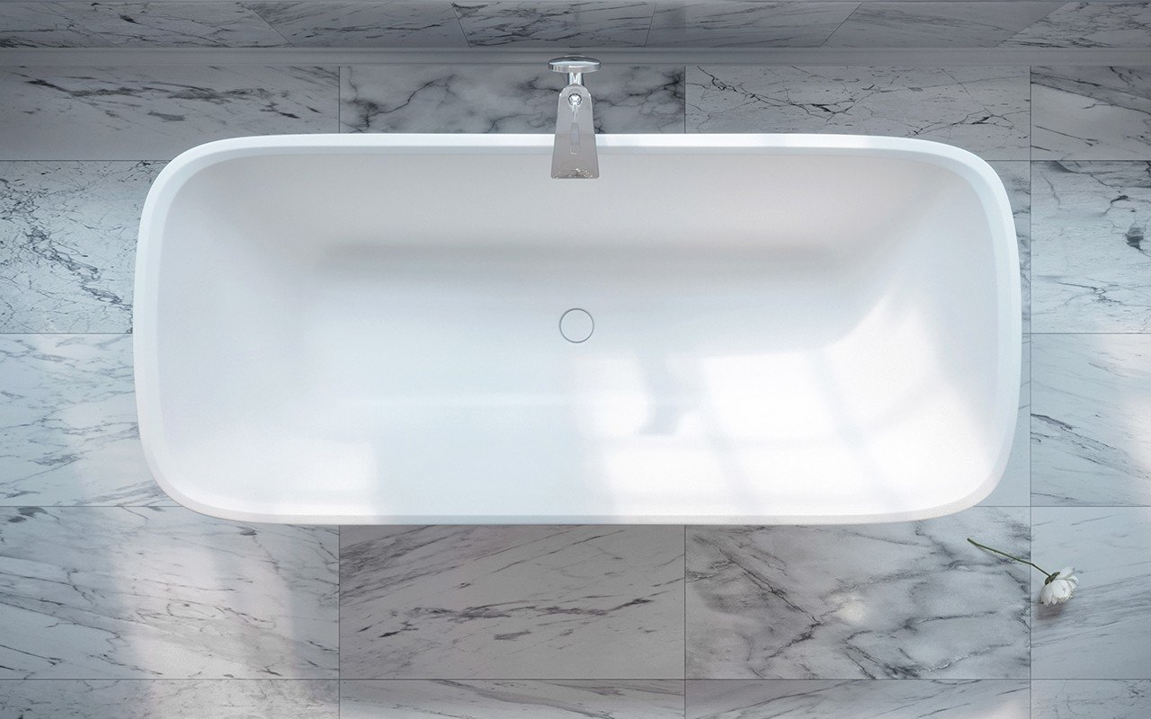 Arabella Black White Freestanding Solid Surface Bathtub by Aquatica web (4)