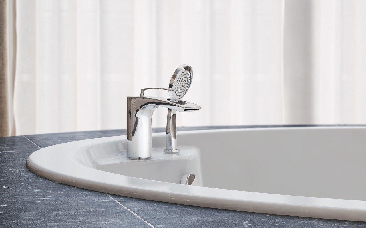 Bollicine d 121 faucet deck mounted tub filler chrome by Aquatica 03 (web)