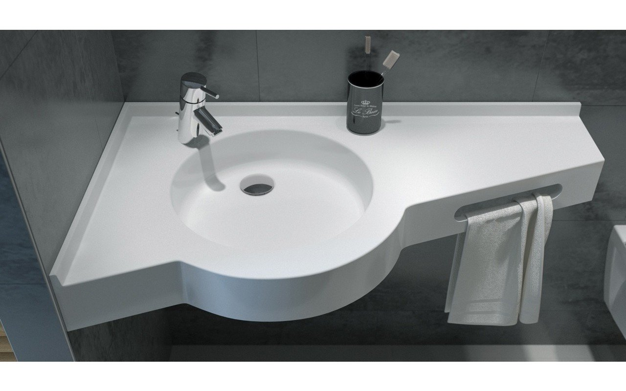 Chantilly Stone Bathroom Sink 02