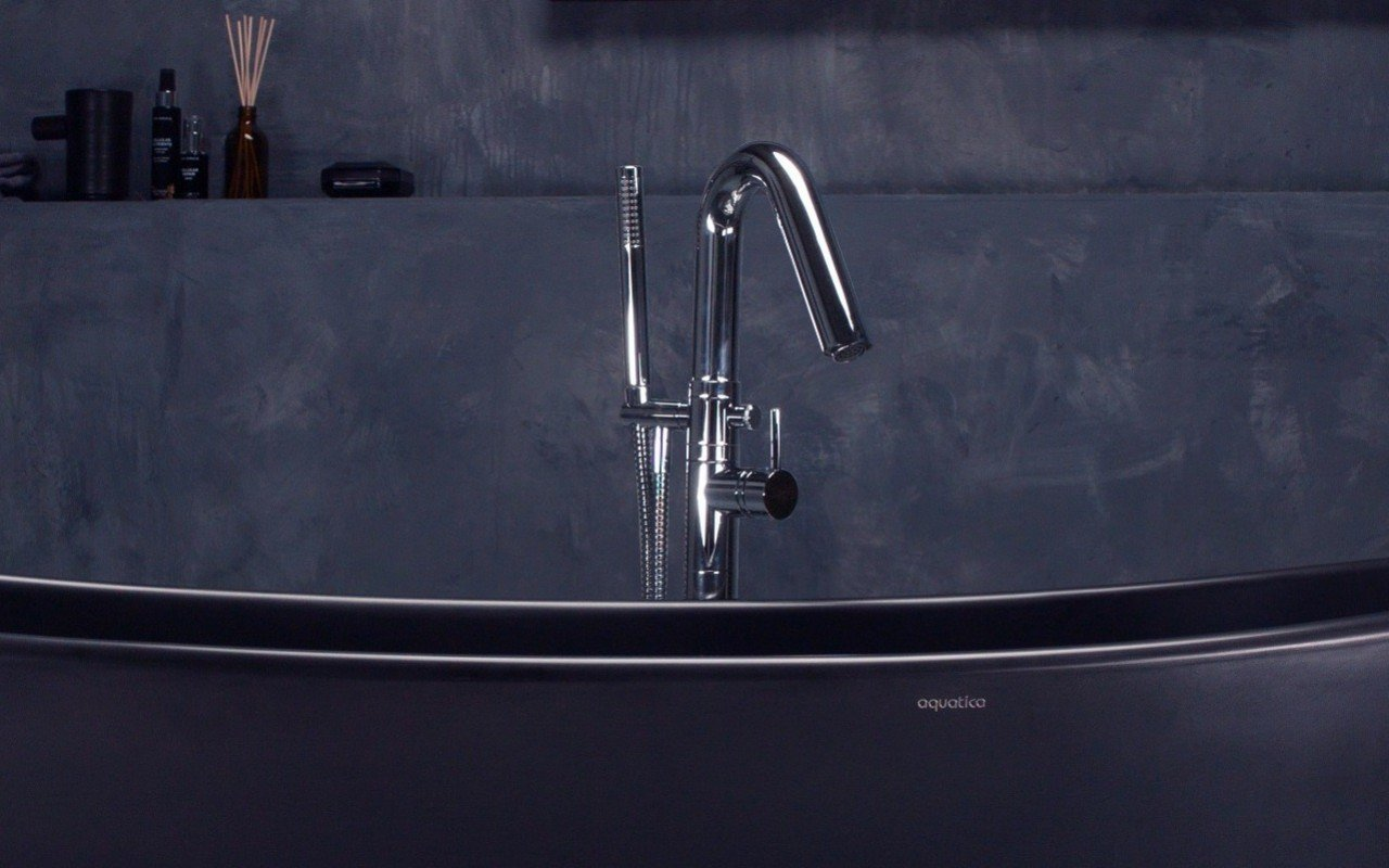 Colonna Faucet – Floor Mounted Tub Filler (4) web