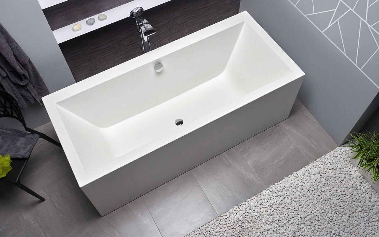 Continental Wht Freestanding Solid Surface Bathtub by Aquatica web (11)