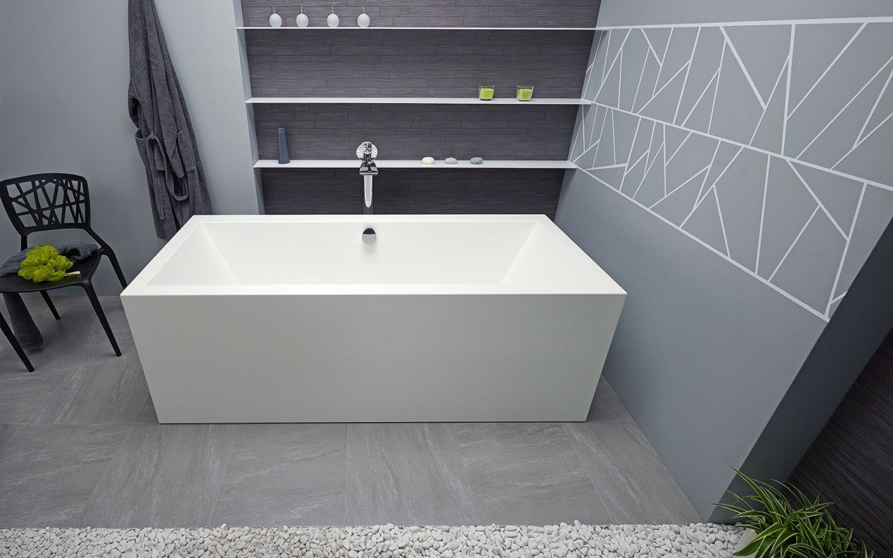 Continental Wht Freestanding Solid Surface Bathtub by Aquatica web (6)