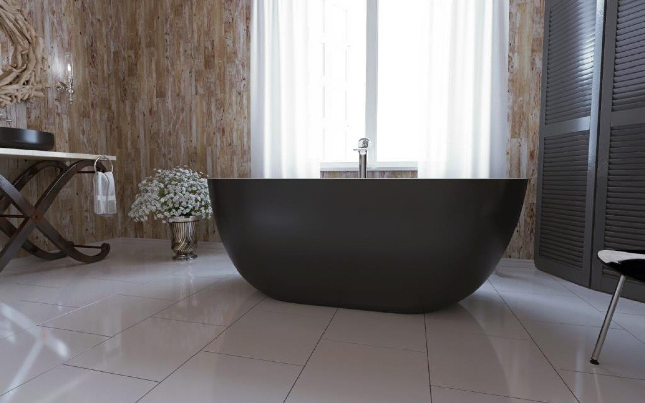 Corelia Black Wht Freestanding Stone Bathtub 4 web