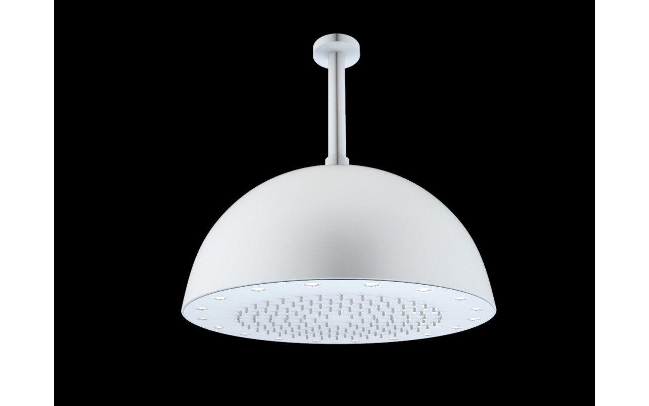 Dynamo Dynamic LED Round Shower Head White Matte(main)