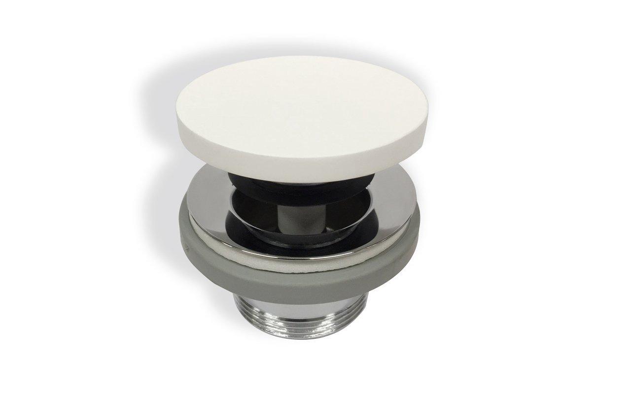 Euroclicker FA Wht (White) Stone Sink Drain 01 (web)