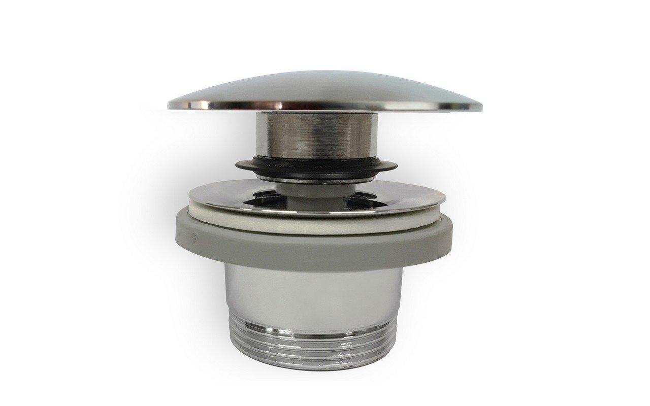 Euroclicker FA sink drain cp chrome plated web 01