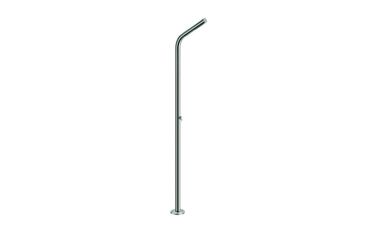 Gamma 524 freestanding outdoor shower 02