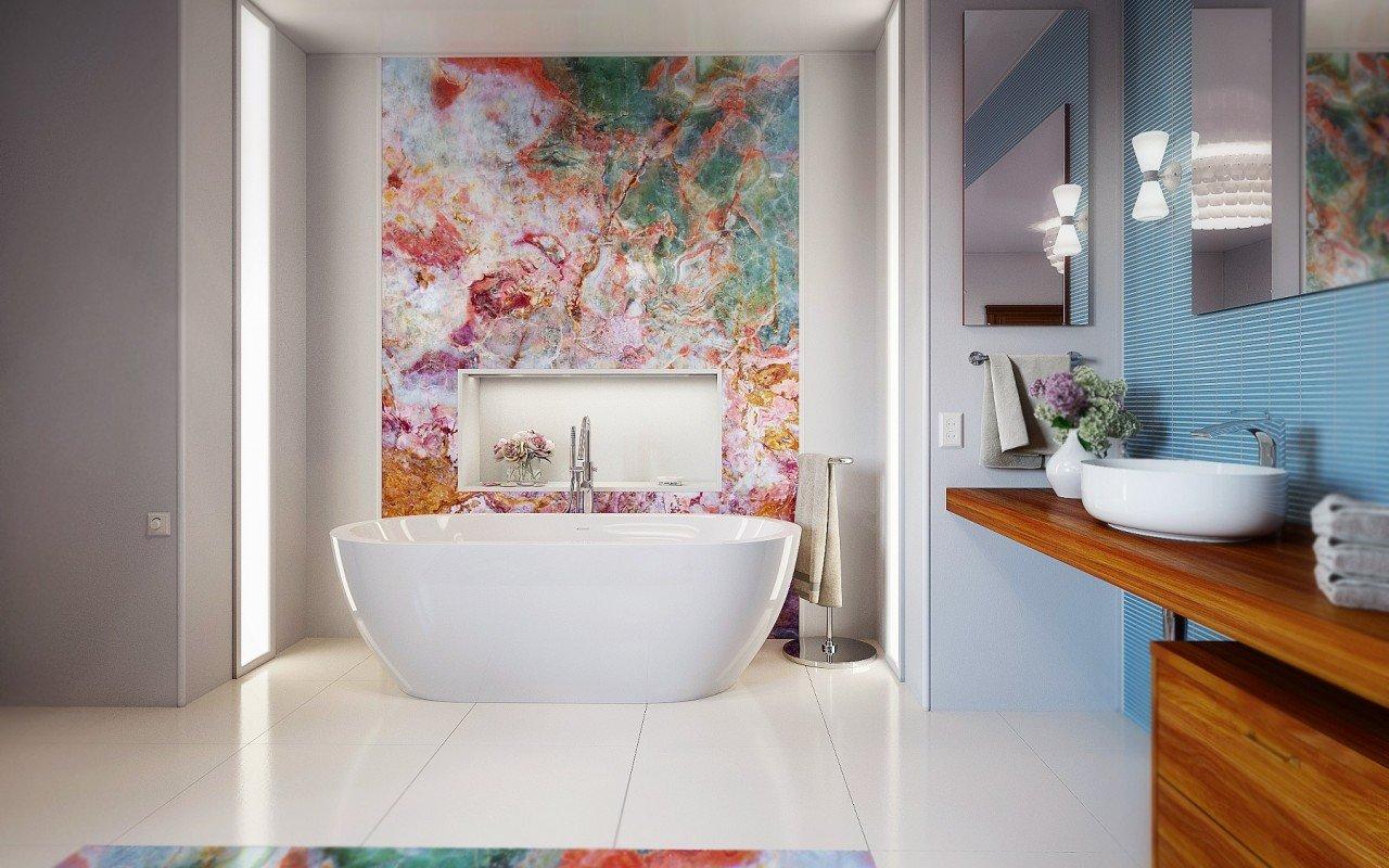 Gloria Wht Freestanding Acrylic Bathtub 8 web