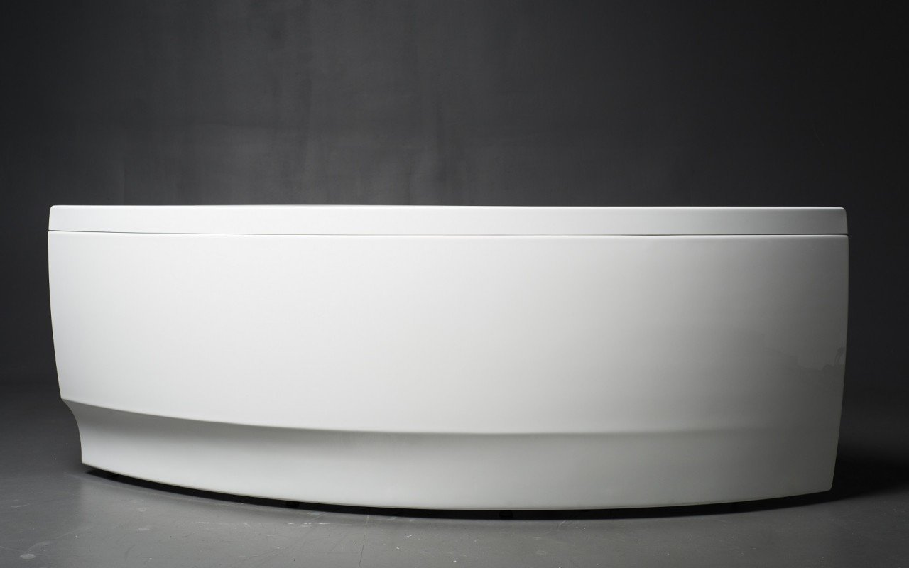 Idea R Wht Corner Acrylic Bathtub 2