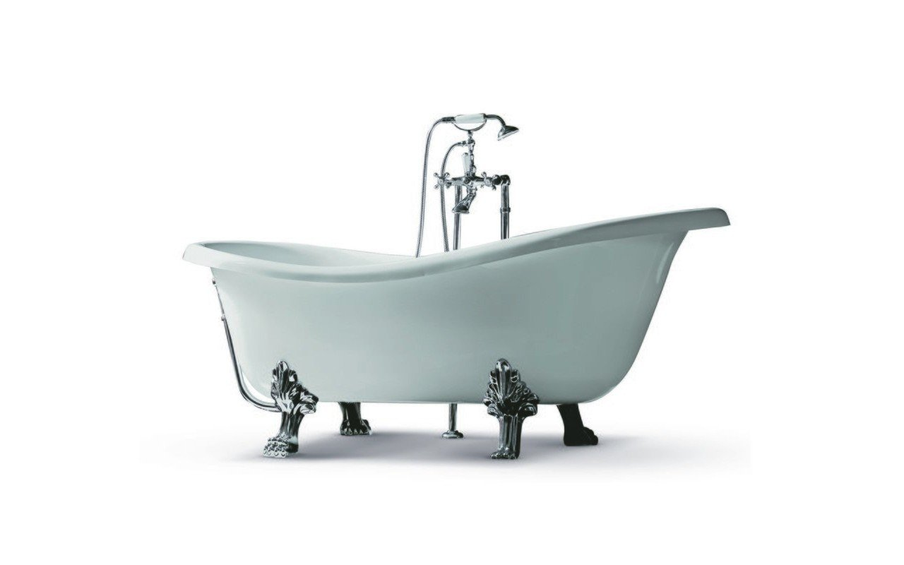 Iliad White Freestanding Acrylic Bathtub 02 (web)