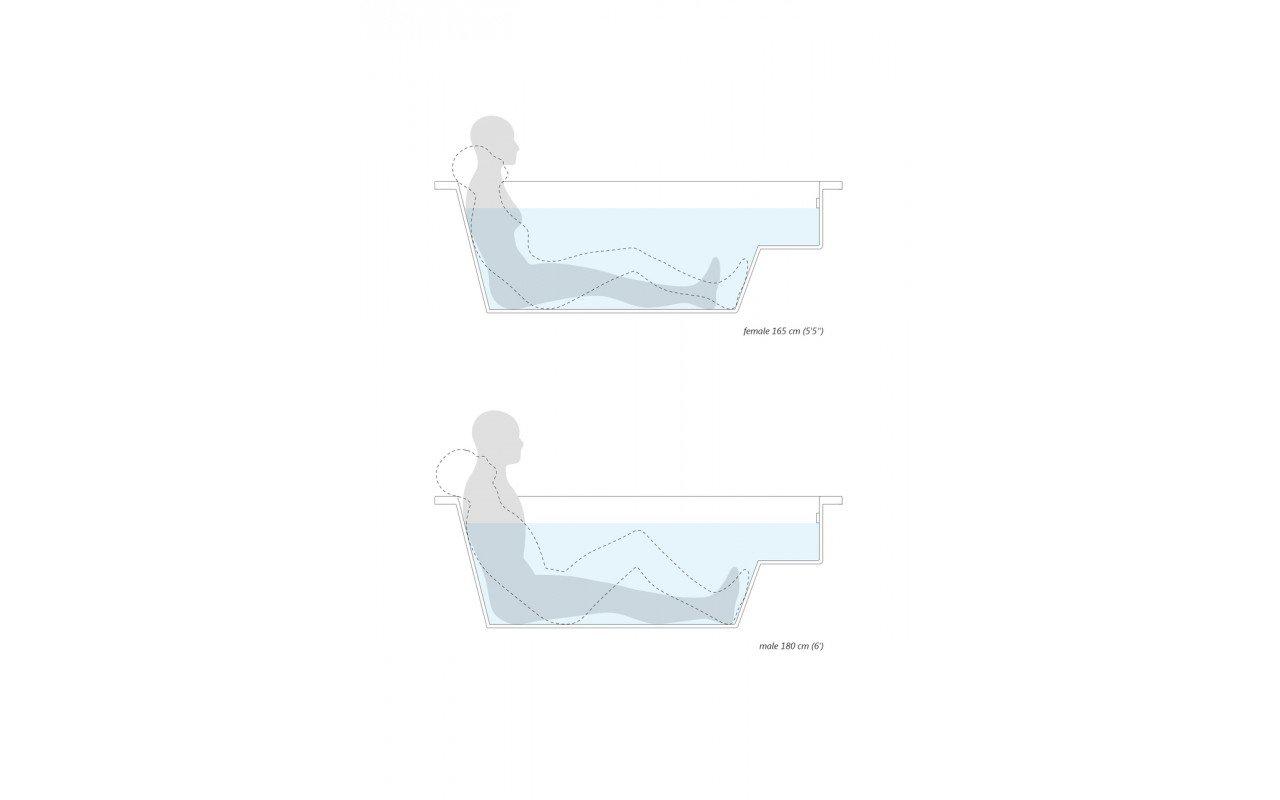 Lacus wht drop in relax acrylic bathtub ergonomics (web)