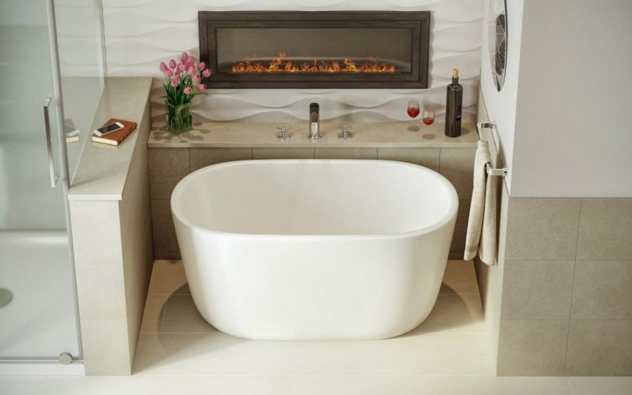 Lullaby Nano Wht Small Freestanding Solid Surface Bathtub by Aquatica web (2)