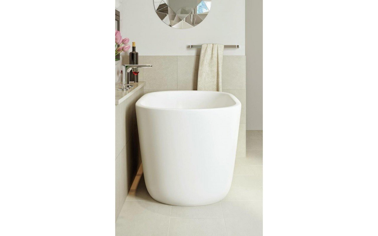 Lullaby Nano Wht Small Freestanding Solid Surface Bathtub by Aquatica web (6)