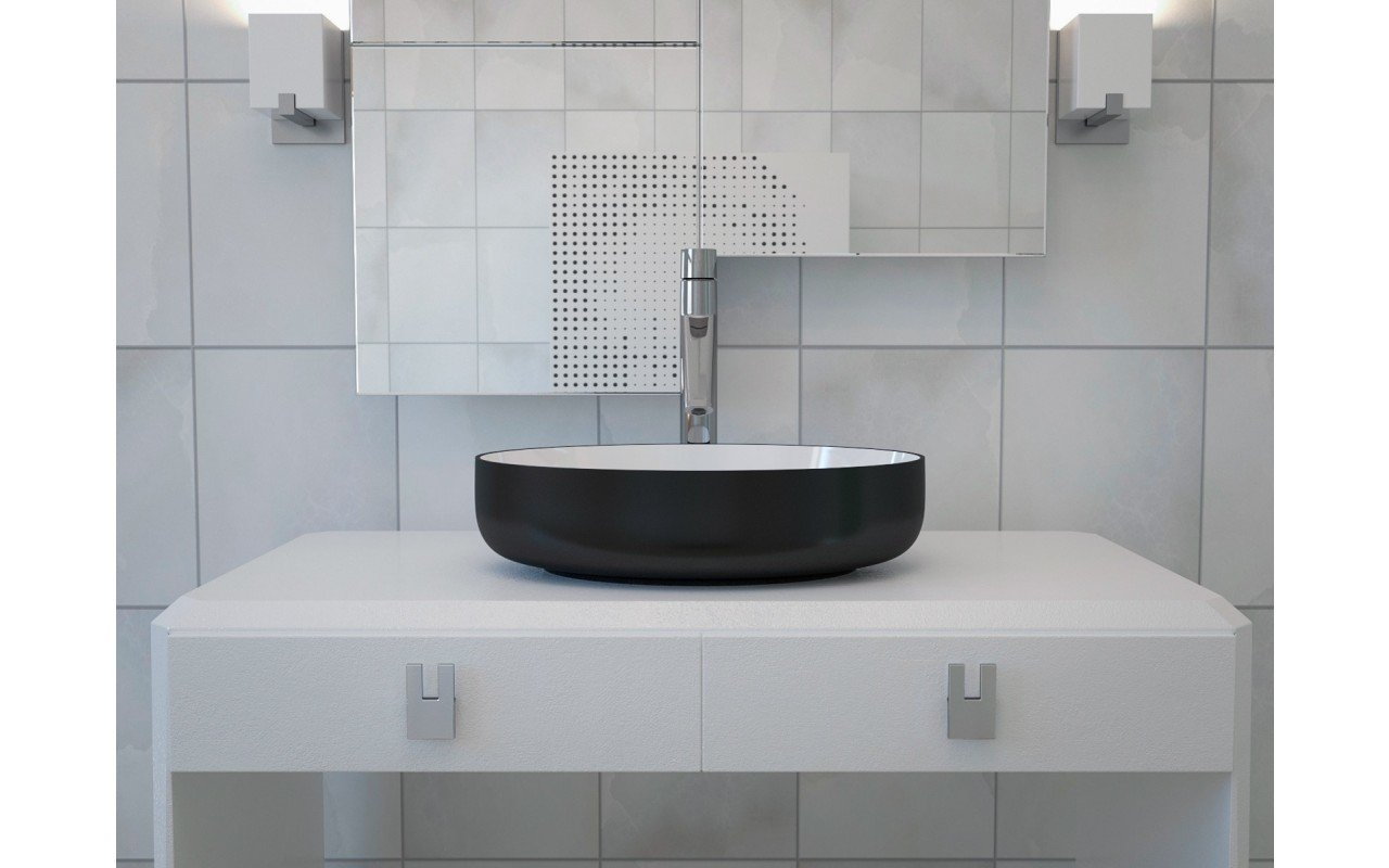 Metamorfosi Black Wht Oval Ceramic Vessel Sink 3D web (3)