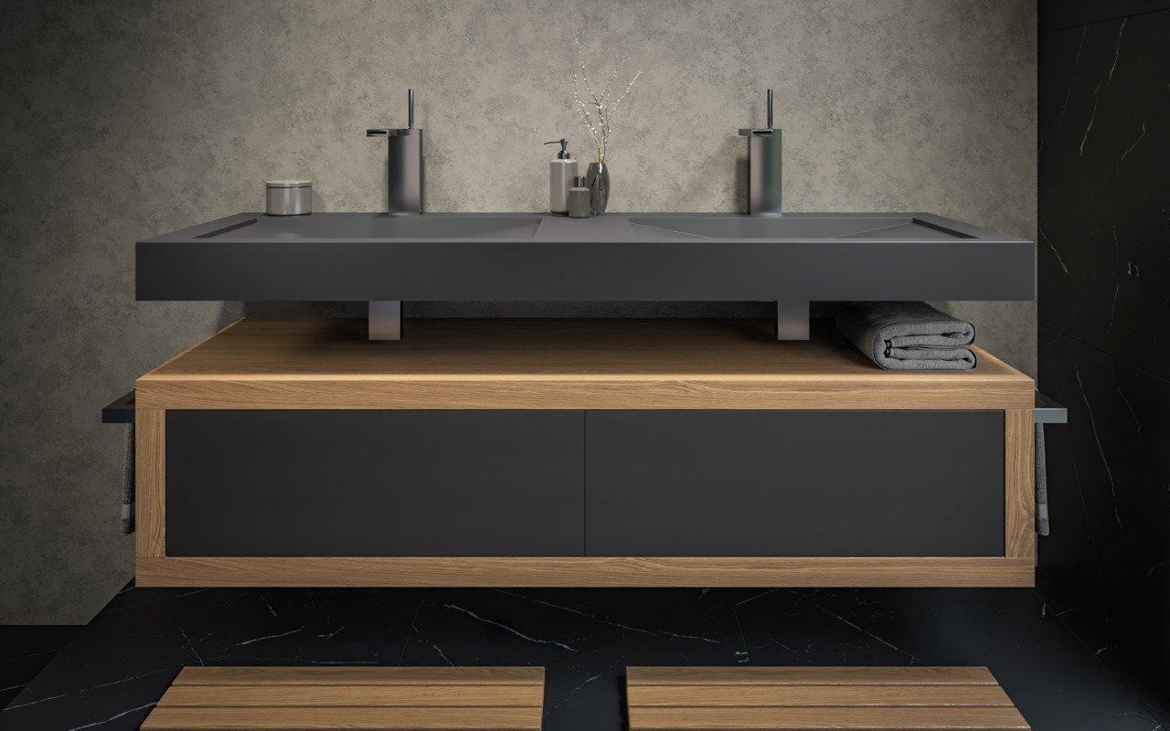Millennium Black Stone Wooden Cabinets 01 (web)