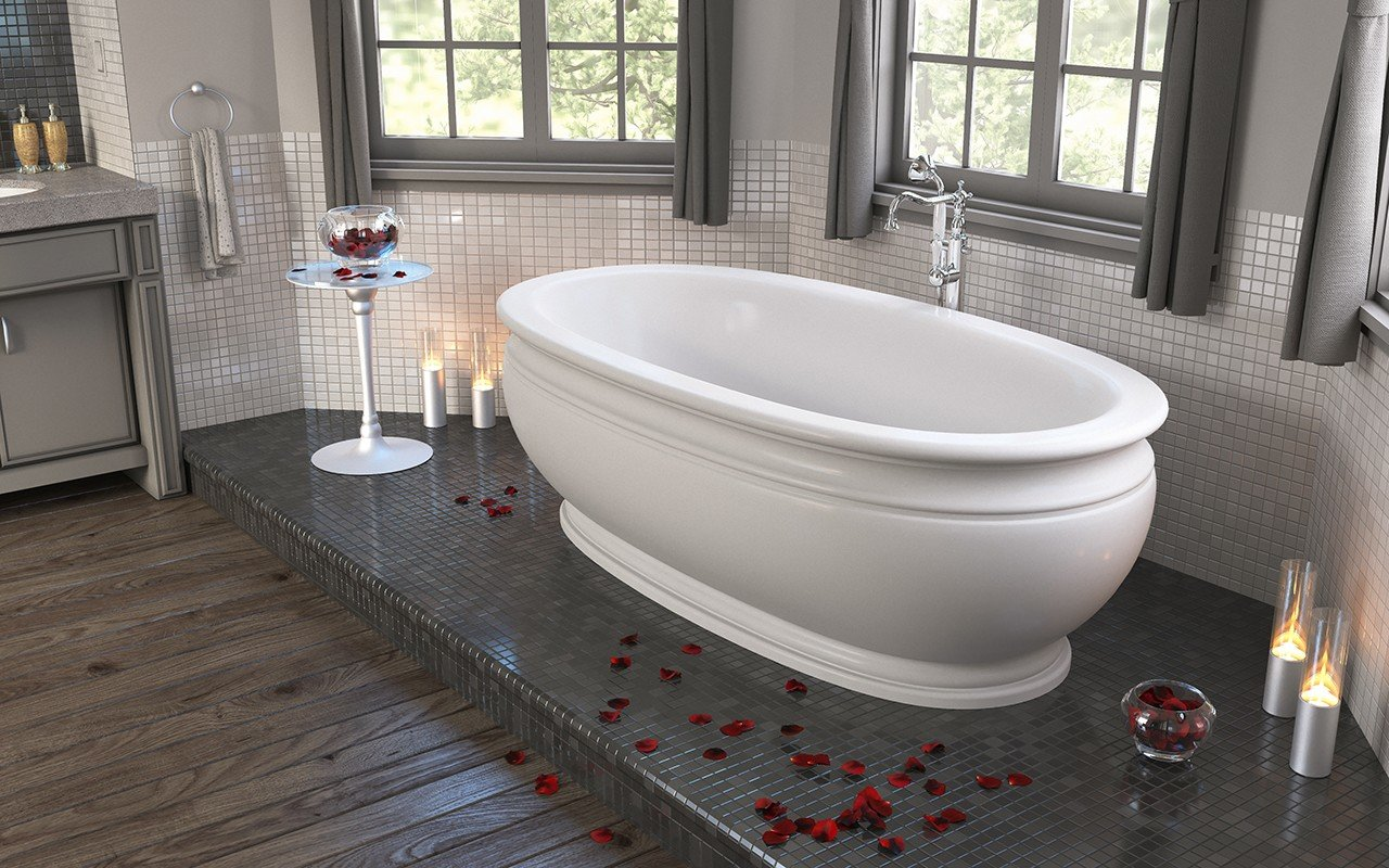 Olympian Roman Freestanding Solid Surface Bathtub web (3)