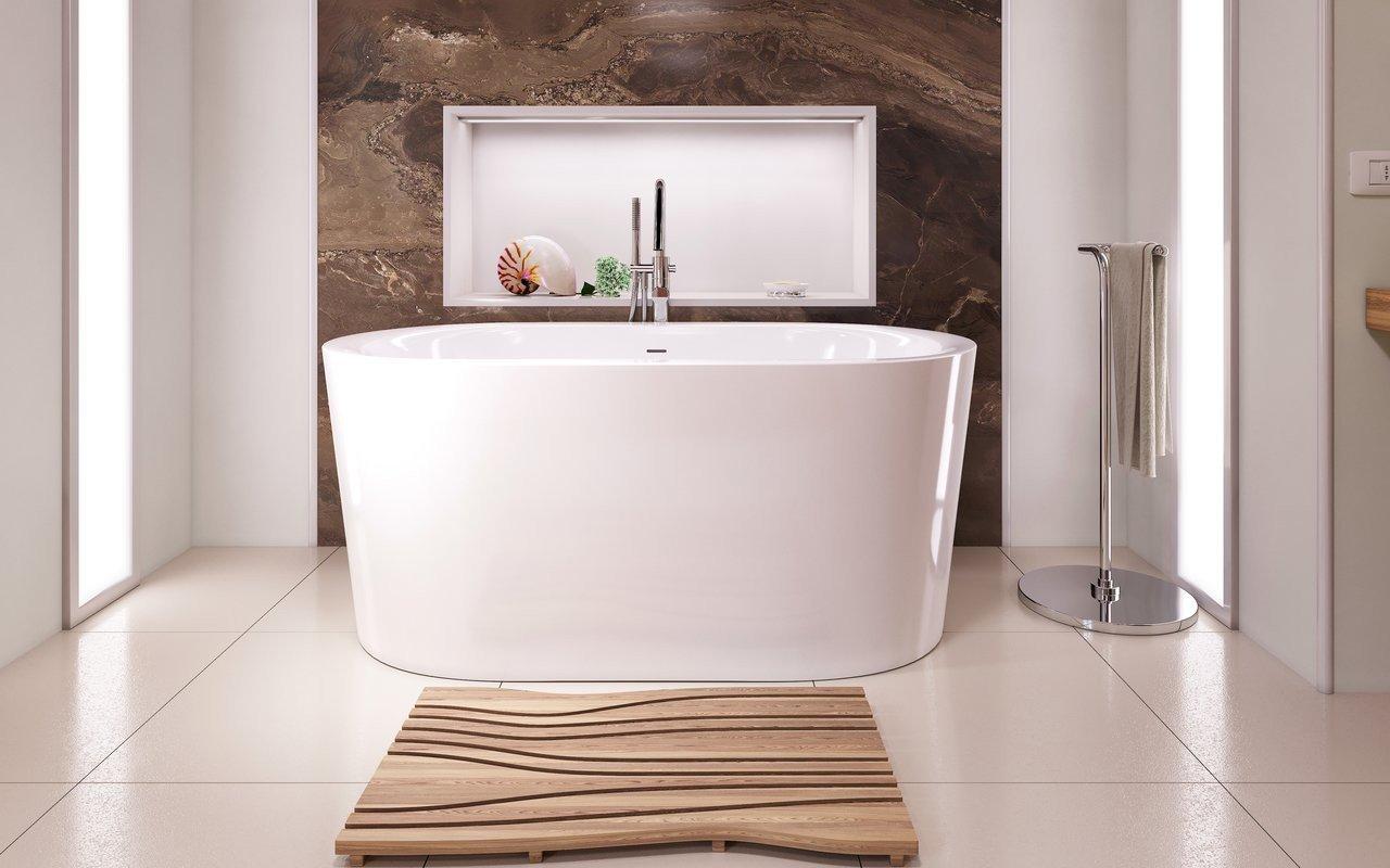 Aquatica Purescape™ 014A Freestanding Acrylic Bathtub picture № 0