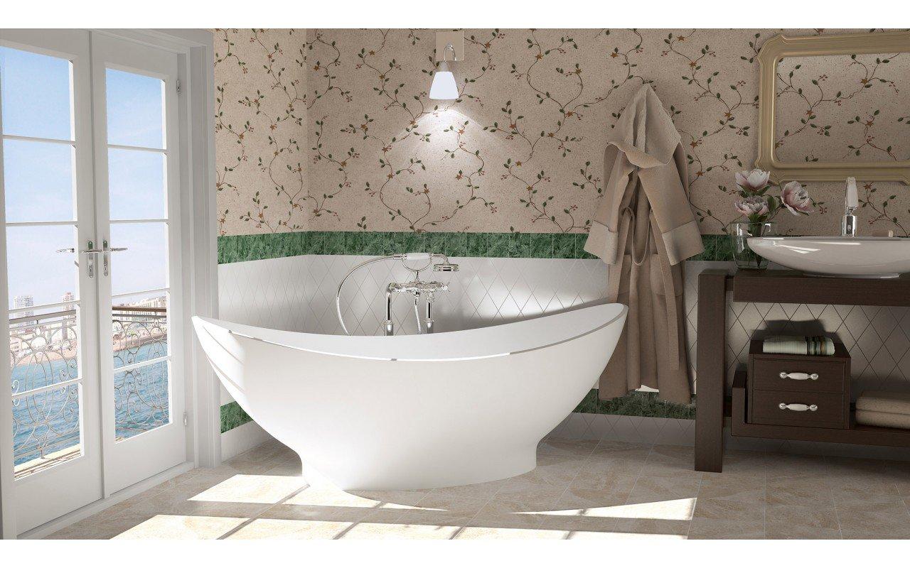 Purescape 621 Freestanding Stone Bathtub 1 web