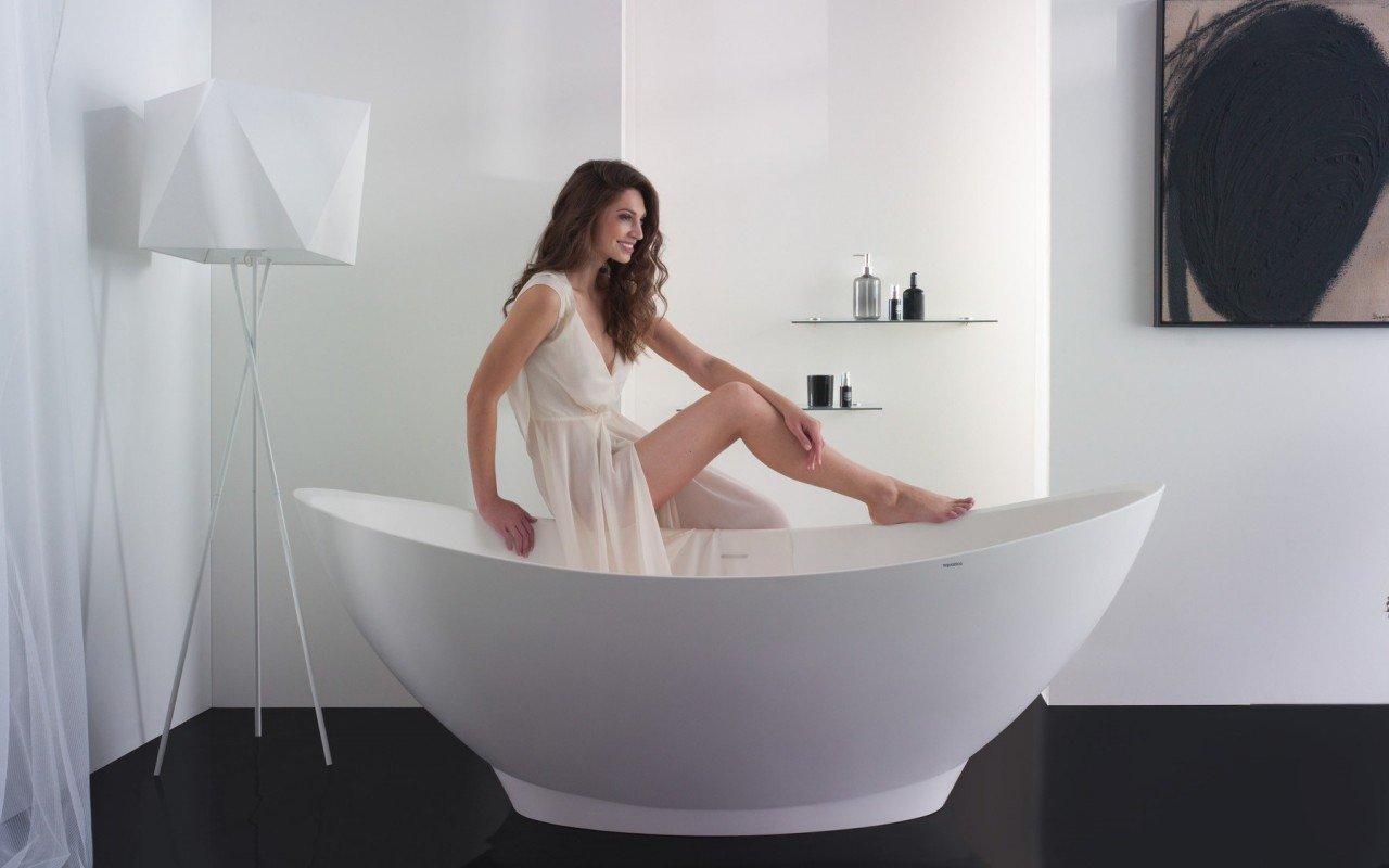Purescape 621 Freestanding Stone Bathtub 1200 1800