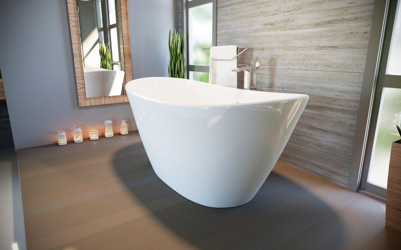 Purescape 748 Glossy Freestanding Slipper Stone Bathtub 03 web