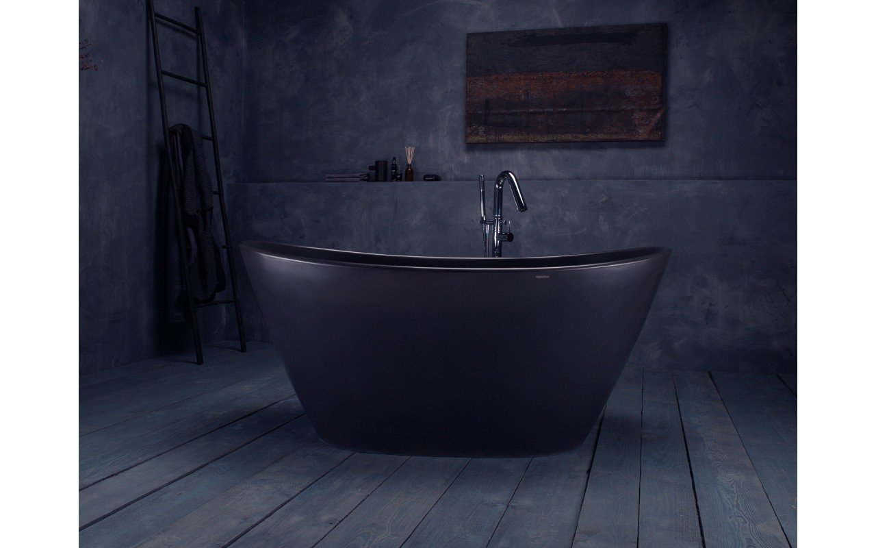 Purescape 748M Black Freestanding Stone Bathtub web (10)
