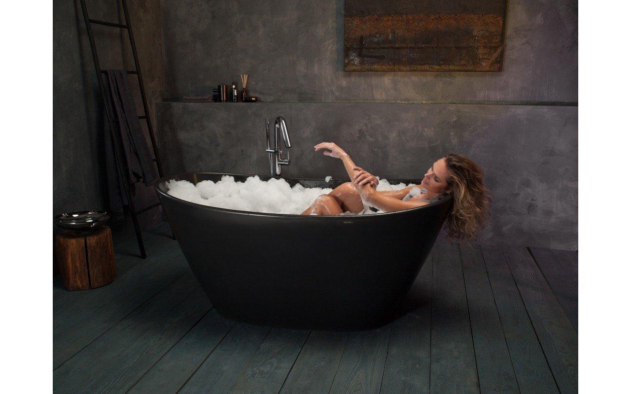 Purescape 748M Black Freestanding Stone Bathtub web (12)